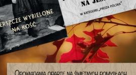"""Książka na jesień autorki z Kolbuszowej LIFESTYLE, Książka - Podczas zakończonych właśnie Międzynarodowych Targów Książki w Krakowie, Agnieszka Czachor odebrała nagrodę w plebiscycie """"Najlepsza książka na jesień"""". Jurorzy uznali, że opowiadania autorki z Kolbuszowej są najlepszą pozycją w kategorii """"Proza polska""""."""