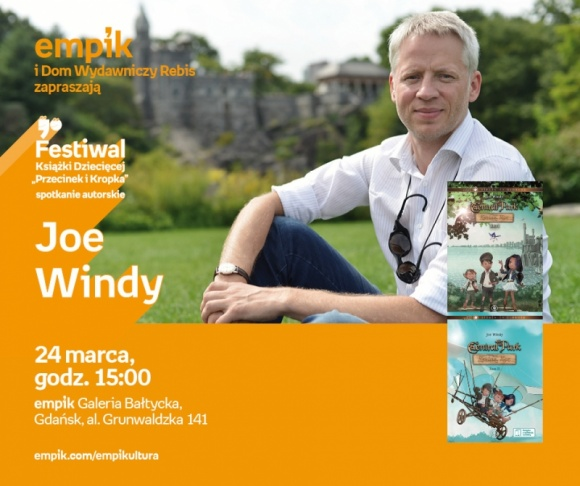 Joe Windy | Empik Galeria Bałtycka LIFESTYLE, Książka - Spotkanie autorskie