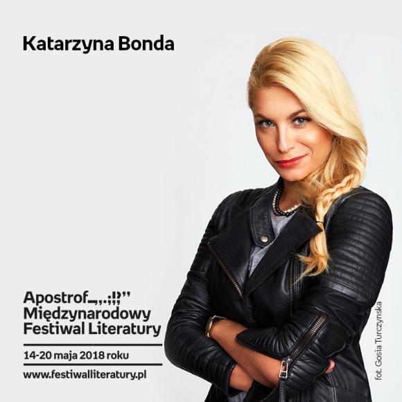 Katarzyna Bonda / Gdański Teatr Szekspirowski LIFESTYLE, Książka - Spotkanie autorskie