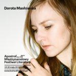 Spotkanie z Dorotą Masłowską w Poznaniu,20.05