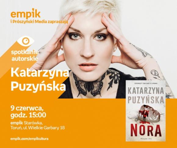 Katarzyna Puzyńska | Empik Starówka LIFESTYLE, Książka - Spotkanie autorskie