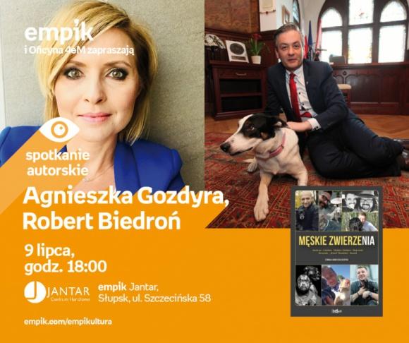 Agnieszka Gozdyra, Robert Biedroń | Empik Jantar LIFESTYLE, Książka - Spotkanie autorskie