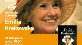 EMILIA KRAKOWSKA - SPOTKANIE AUTORSKIE - ŁÓDŹ LIFESTYLE, Książka - EMILIA KRAKOWSKA - SPOTKANIE AUTORSKIE - ŁÓDŹ 21 listopada, godz. 18:00 empik Manufaktura, Łódź, ul. Karskiego 5