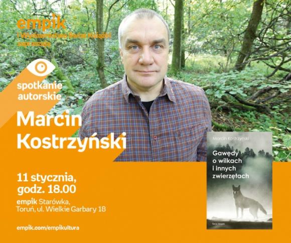 Marcin Kostrzyński | Empik Toruń Starówka LIFESTYLE, Książka - spotkanie autorskie
