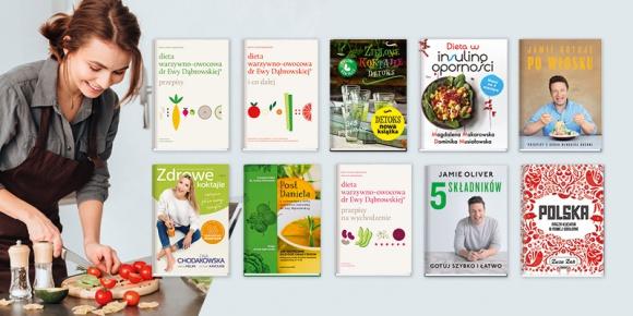 TOP 10 książek kulinarnych LIFESTYLE, Książka - Niedawno rozdano Bestsellery Empiku 2018 wskazujące ubiegłoroczne preferencje czytelników w obszarze literatury. Dziesięć książek najchętniej wybieranych przez miłośników jedzenia i gotowania przedstawia się równie interesująco.