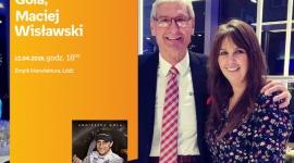"""AGNIESZKA GOLA i MACIEJ WISŁAWSKI - SPOTKANIE AUTORSKIE - ŁÓDŹ LIFESTYLE, Książka - AGNIESZKA GOLA i MACIEJ WISŁAWSKI - """"JANUSZ KULIG. NIEDKOŃCZONA HISTORIA"""" - SPOTKANIE AUTORSKIE - ŁÓDŹ 12 kwietnia, godz. 18:00 Empik Manufaktura, Łódź, ul. Karskiego 5"""