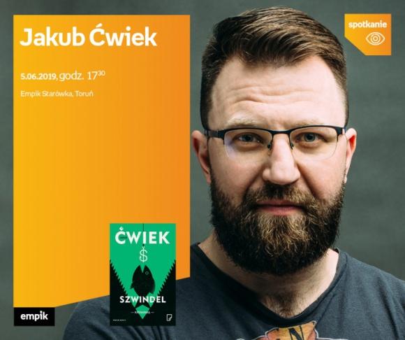Jakub Ćwiek | Empik Starówka LIFESTYLE, Książka - spotkanie
