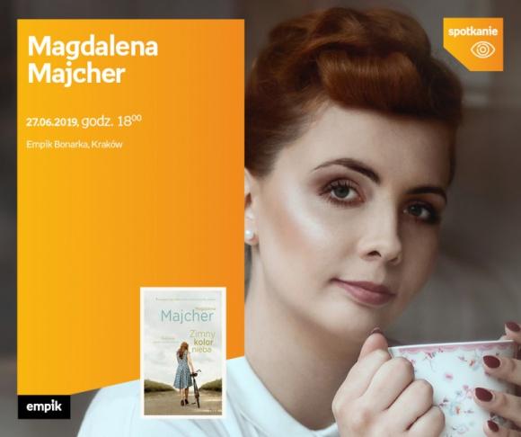 Magdalena Majcher | Empik Bonarka LIFESTYLE, Książka - Nowa książka Magdaleny Majcher.