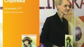 Agnieszka Chylińska spotkanie w Poznaniu LIFESTYLE, Książka - Agnieszka Chylińska 1 lipca, godz. 17:00 Poznań, Empik Plac Wolności, ul. Ratajczaka 44