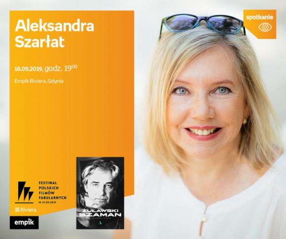 Aleksandra Szarłat. 44 FPFF w Gdyni | Empik Riviera LIFESTYLE, Książka - spotkanie