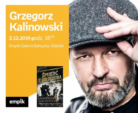 Grzegorz Kalinowski   Empik Galeria Bałtycka LIFESTYLE, Książka - spotkanie