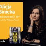 Spotkanie autorskie z Alicją Sinicką w Poznaniu