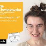 """IGA CHMIELEWSKA (AUTORKA """"BARDZO BRZYDKICH RYSUNKÓW"""") - SPOTKANIE - ŁÓDŹ"""