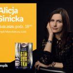 ALICJA SINICKA - SPOTKANIE AUTORSKIE - ŁÓDŹ