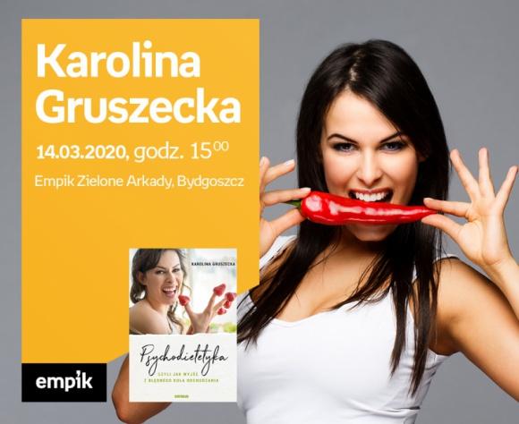 ODWOŁANE Karolina Gruszecka   Empik Zielone Arkady LIFESTYLE, Książka - spotkanie